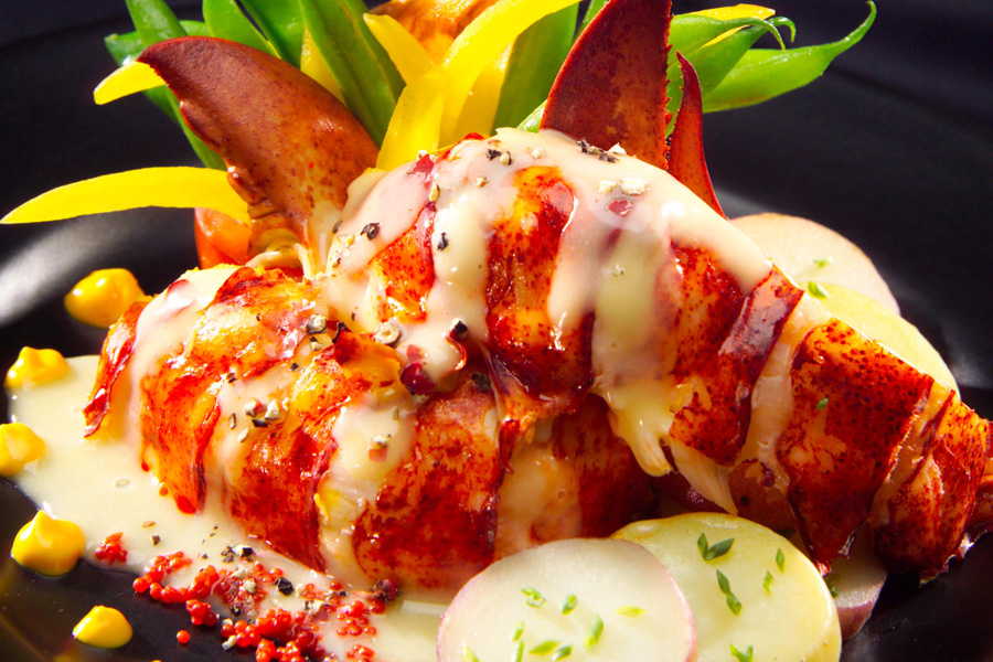Butter Poached Lobster