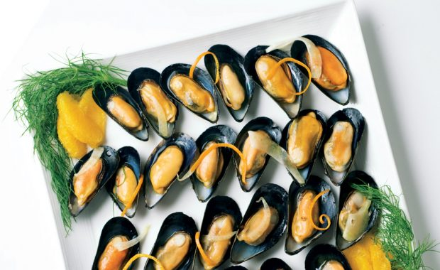 Mussels-on-the-Half-Shell