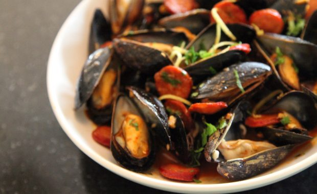 Mussels-with-Chorizo-and-Smoked-Paprika