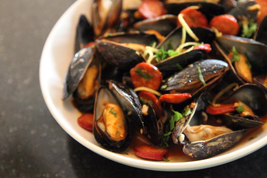 Mussels-with-Chorizo-and-Smoked-Paprika