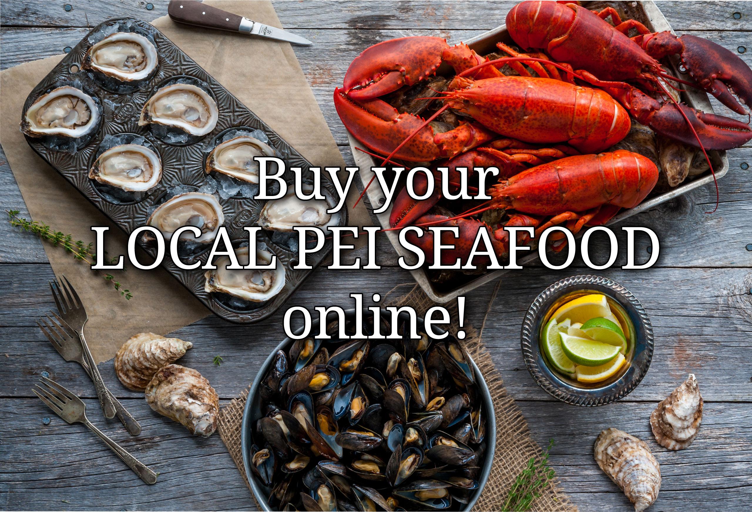 Buy PEI Seafood Online!