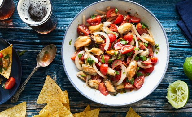 Chipotle Mussel Salad