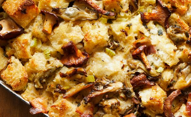 Oyster, Bacon and Wild Mushroom Stuffing
